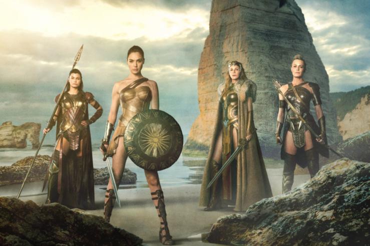 The Wonder Woman Women